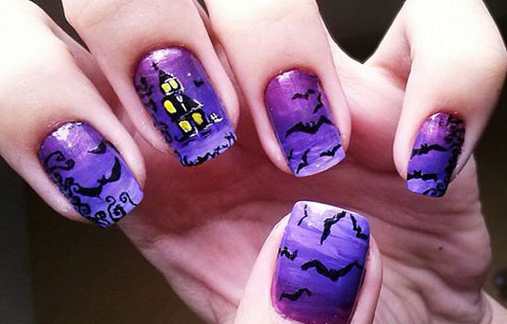 Photo of 15 Halloween Nail Art Ideas