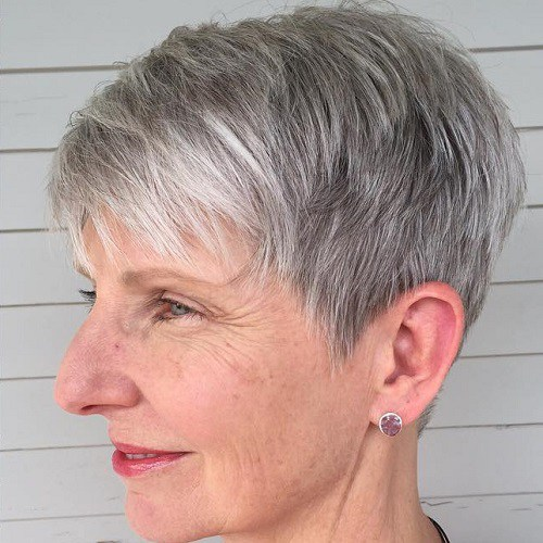 Classy Amp Simple 23 Short Hairstyles For Older Women