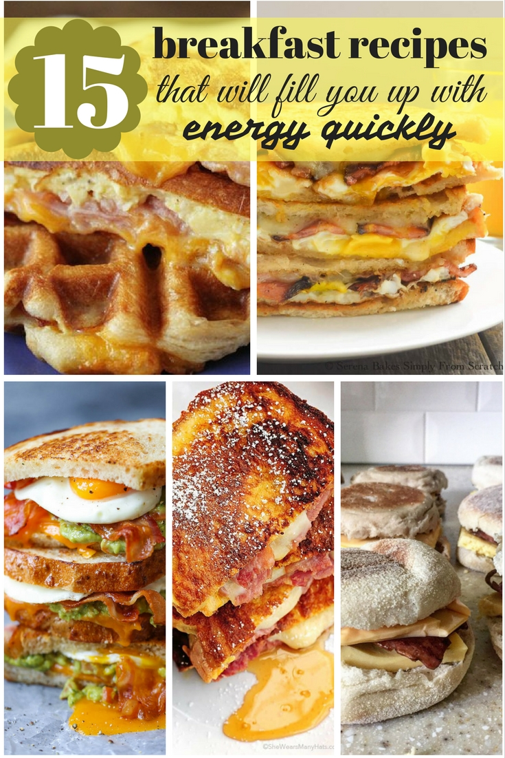15 breakfast recipes that will fill you up with energy quickly