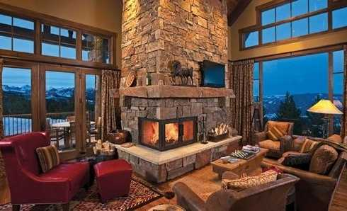 Stone Fireplace Pictures Ideas 15 natural stone fireplace ideas for a warm winter - zoomzee
