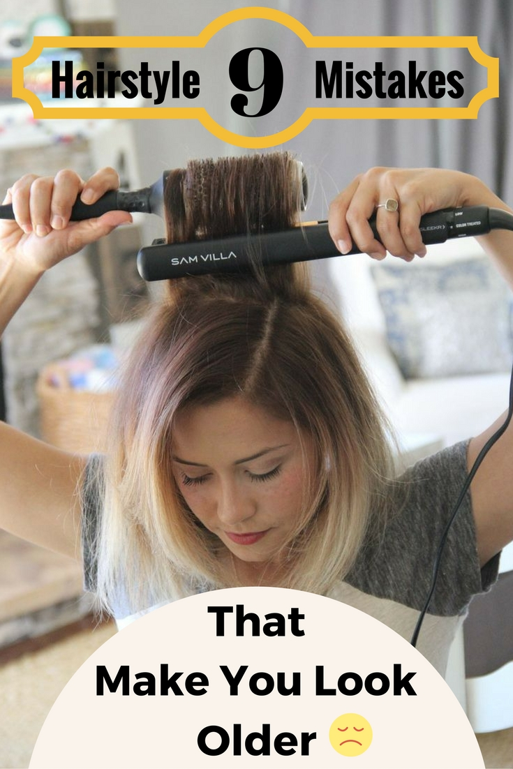 10 hair mistakes that make you look latest hairstyles 10 ...
