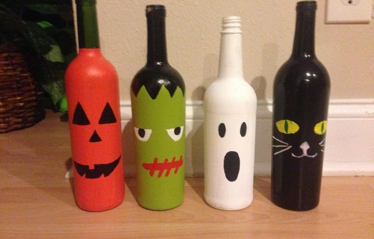 Photo of Top 10 Creative Ways To Use Wine Bottles As Halloween Decor