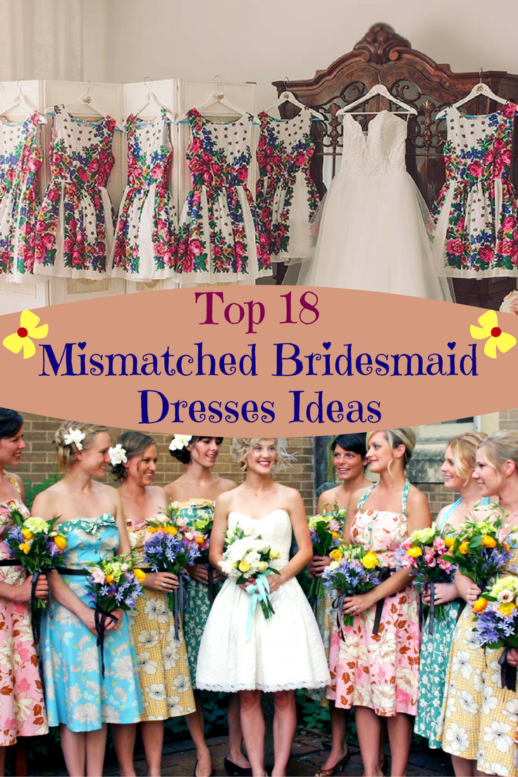 Top 18 mismatched bridesmaid dresses ideas zoomzee im helping my future sister in law and believe me shes quite a bridezzila beside wedding decorations i have to take care of bridesmaids wedding outfit ombrellifo Choice Image