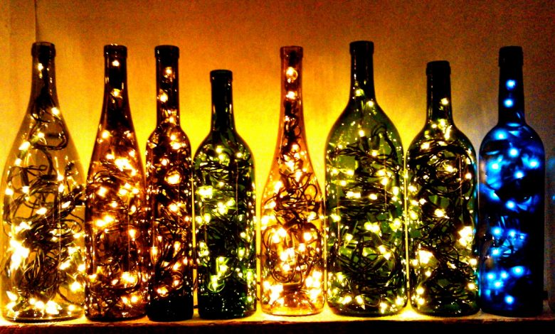 Photo of 10 Wine Bottles Decoration Ideas For Christmas