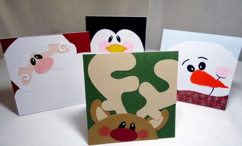 Photo of 10 Handmade Christmas Cards Tutorials To Jiggle Up Winter Holidays