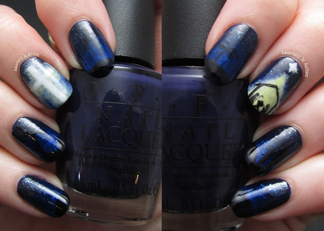 Aww, it's so great to see a Christian nail art and unique, too. Thanks for  this original idea. - 10 Best Nail Art Designs To Nail-Up Christmas In 2016 - ZoomZee.org