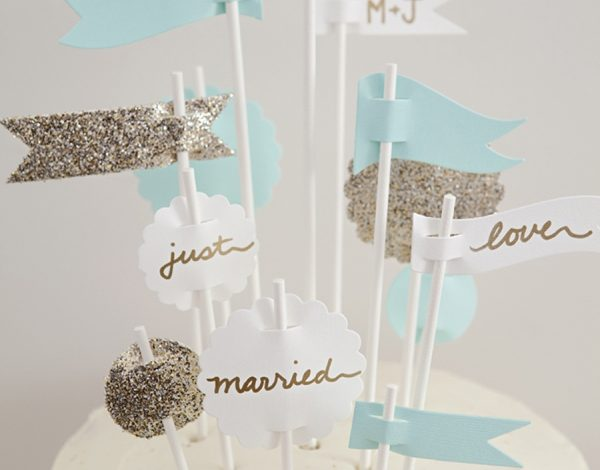Photo of 6 Diy Weddings: Cake Topper