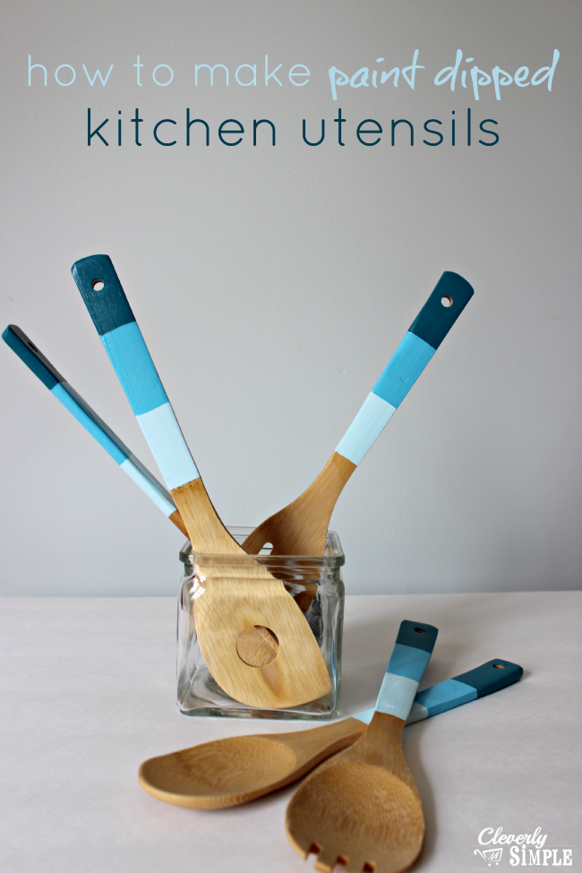 how-to-make-paint-dipped-kitchen-utensils