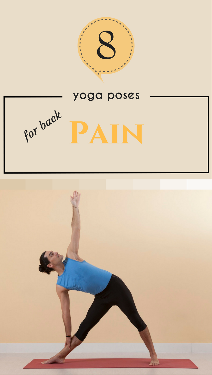 8 Yoga Poses For Back Pain and Scoliosis