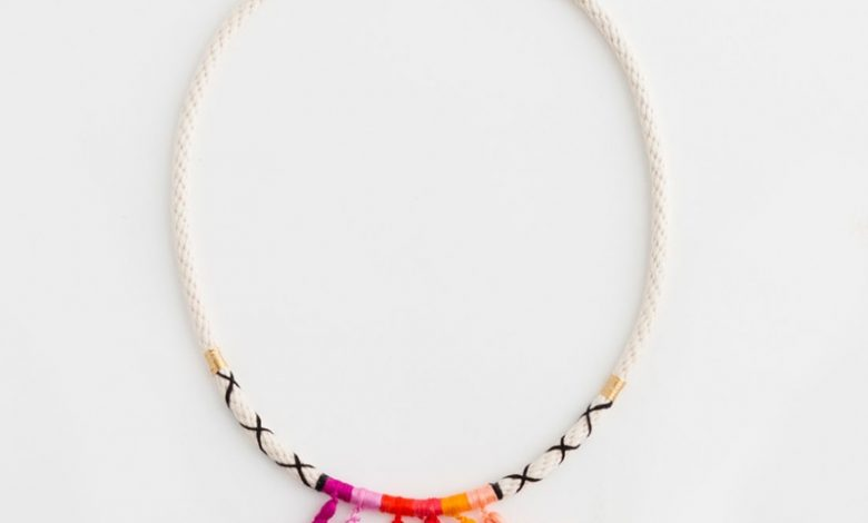 Photo of 15 Diy Easy Necklace With Fabric