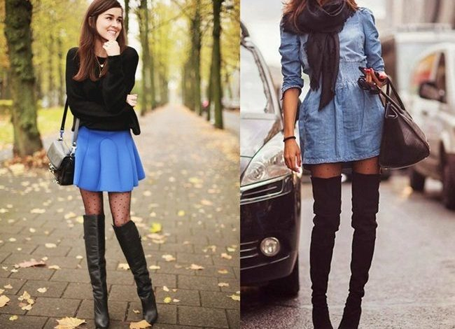 Photo of 15 Outfits Ideas To Match Perfectly With Your Thigh-High Boots