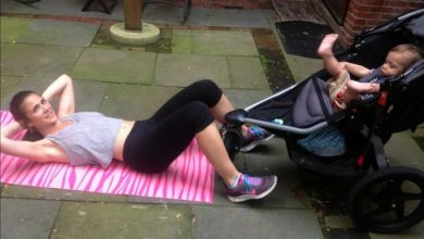 Photo of The Best Fitness Workout With A Stroller For A Fit Mommy